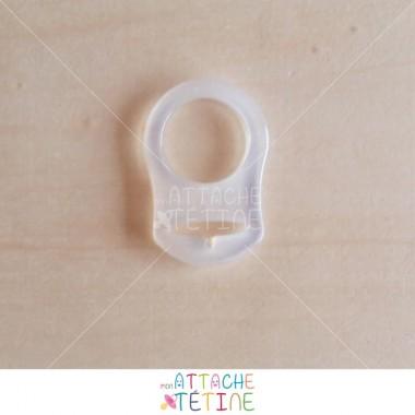 Anneau silicone transparent